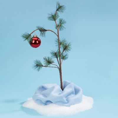 Charlie Brown Type Christmas Tree