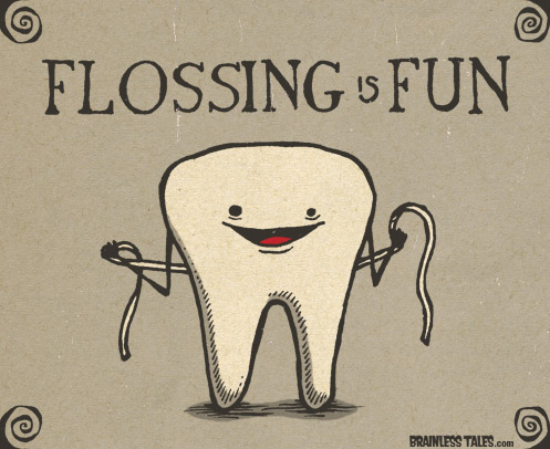 20 reasons to floss notes from a chair for What is flossing