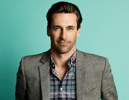... or shameless excuse to post a pic of Jon Hamm
