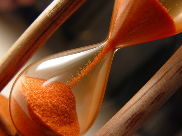 Like sands through the hourglass..