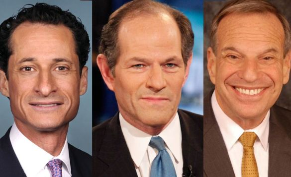 Who knew of these three Spitzer would come out smelling like roses?