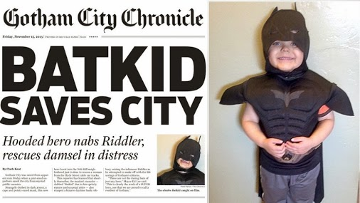Three cheers for Bat Kid!