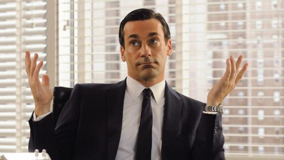 Jon  Hamm says: Only time will tell