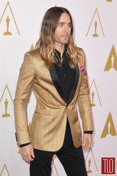 Bonus points for wearing this suit to the Oscar luncheon #werkJared