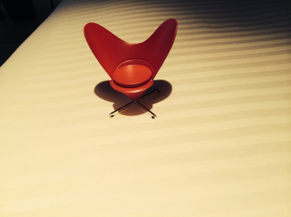 A tiny, couture Chair