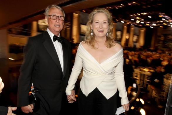 Oh.. and he was besties with Meryl Streep.