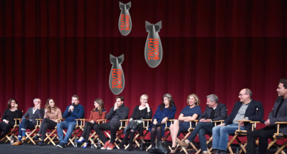 the cast about to drop some truth bombs...