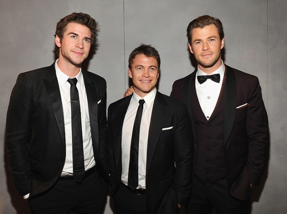 Why yes of course! Meet Luke Hemsworth... the short one.