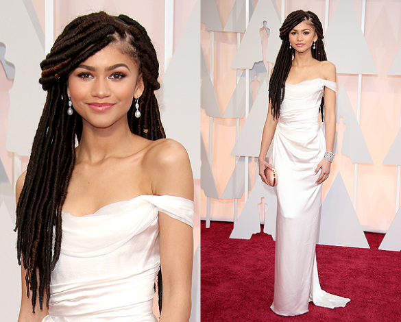 I'm more wondering why Zendaya was at the Oscars... but oh well