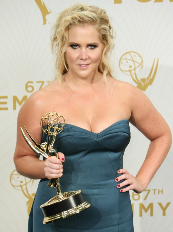 67th Annual Emmy Awards at Microsoft Theatre Featuring: Amy Schumer Where: Los Angeles, California, United States When: 20 Sep 2015 Credit: FayesVision/WENN.com