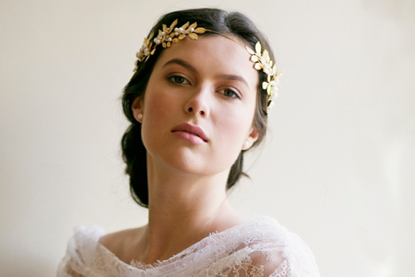 You know... Laurel crowns... those things hipster brides wear on Pinterest