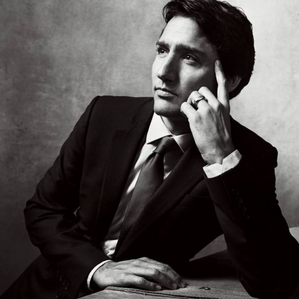 Not if it means I get to post a picture of Canadian prime minister Justin Trudeau