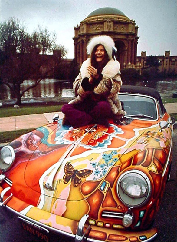 Janis gives us San Fran late 60s realness