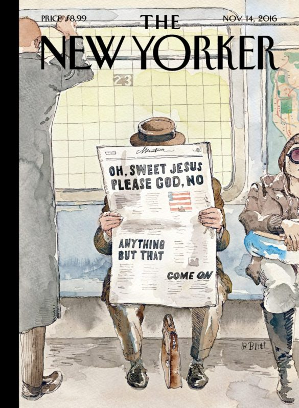 The New Yorker nails it again #nevertrump #never #ever #ever