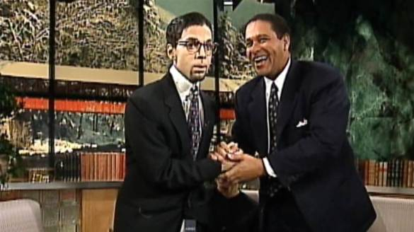 There was that time he went on the Today Show dressed as Bryant Gumbel
