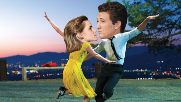 ... or original casting choices Emma Watson and Miles Teller. #HermoinegetsWhiplash