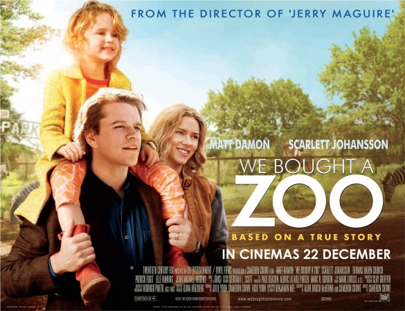 Let's be real: you would totally watch We Bought a Zoo on a plane #andyoudlikeit