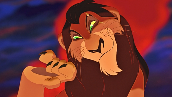 I mean.... do we not remember Scar? #letsbereal